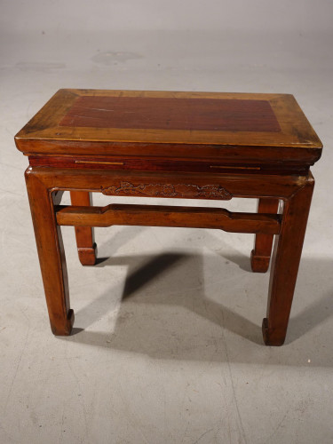 A Late 19th Century Oriental Side Table or Stool