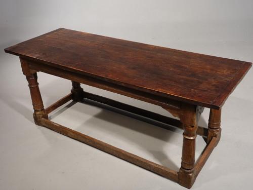 A Good Early 19th Century Oak Farmhouse Table