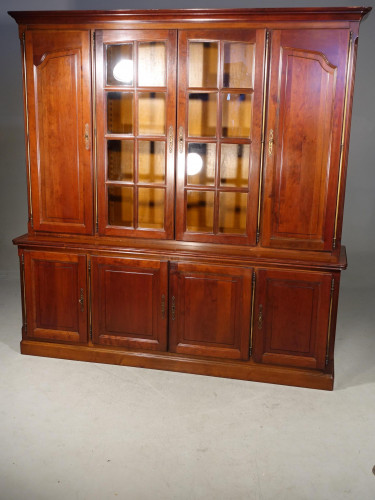 A Large Mid 20th Century Mahogany Bookcase