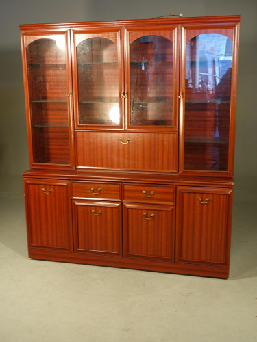 A Mid 20th Century French Bookcase / Display Cabinet