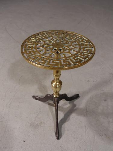 A Very Good George III Period Brass Trivet