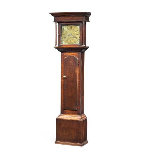 George III Period Oak Longcase Clock by E. Foster of Carlisle
